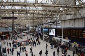london waterloo train station