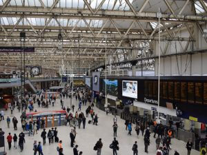 london waterloo train station