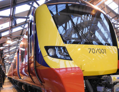 First Desiro City Fleet for South West Trains Arrives in London