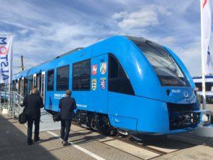 Alstom's Coradia iLint zero emission train