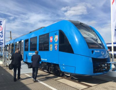 Denmark Show Interest in Alstom's Zero-Emission Train