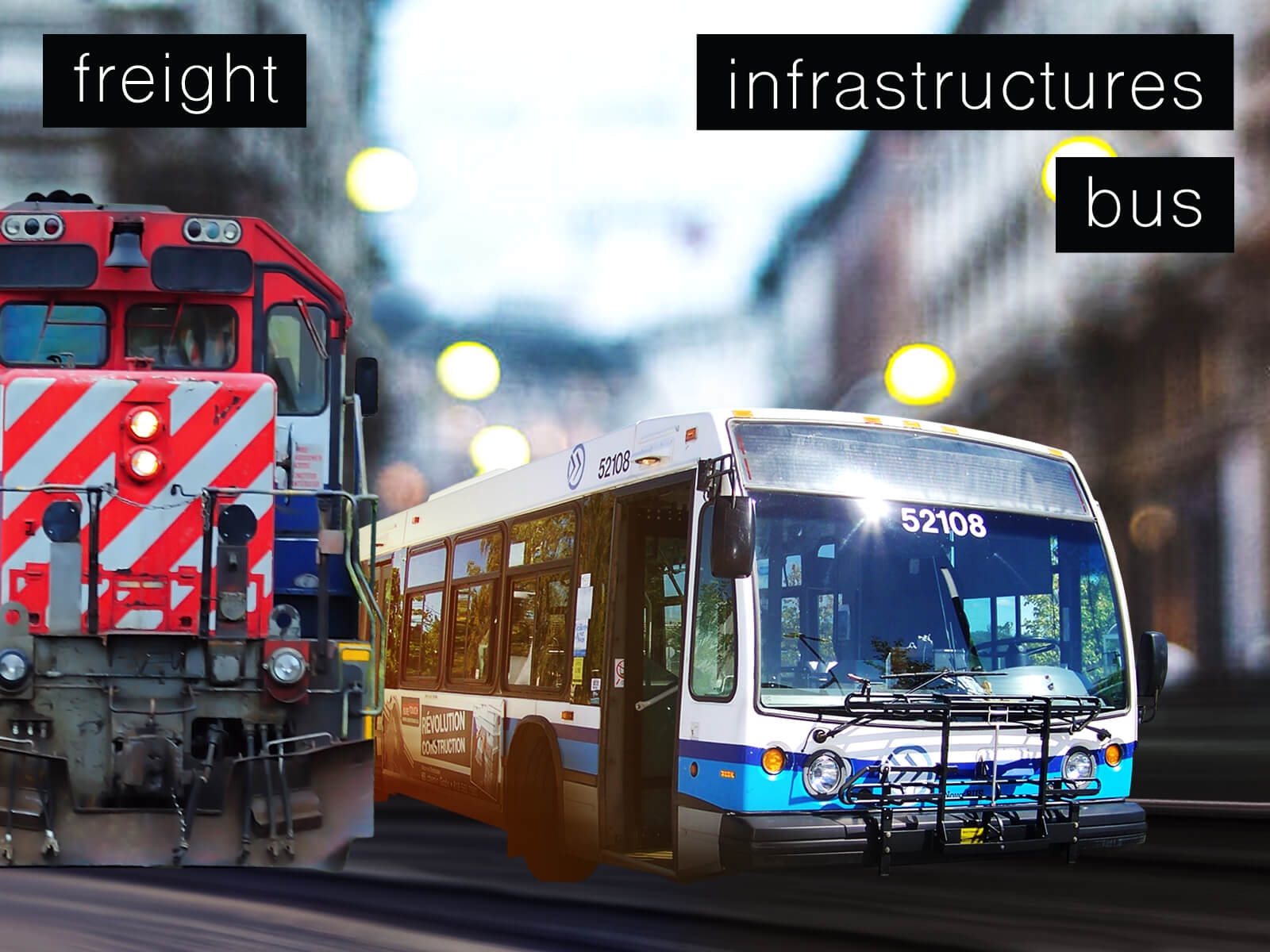 Freight, Infrastructure, and Bus Markets