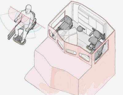 Baultars 3D integration Drivers Seat Freight