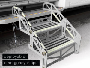Deployable Emergency Steps