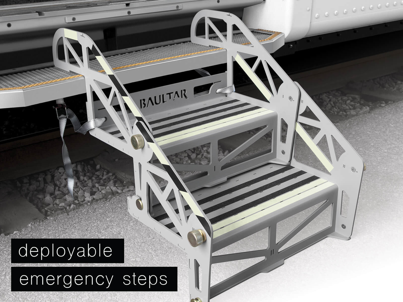 Baultar's Deployable Emergency Steps
