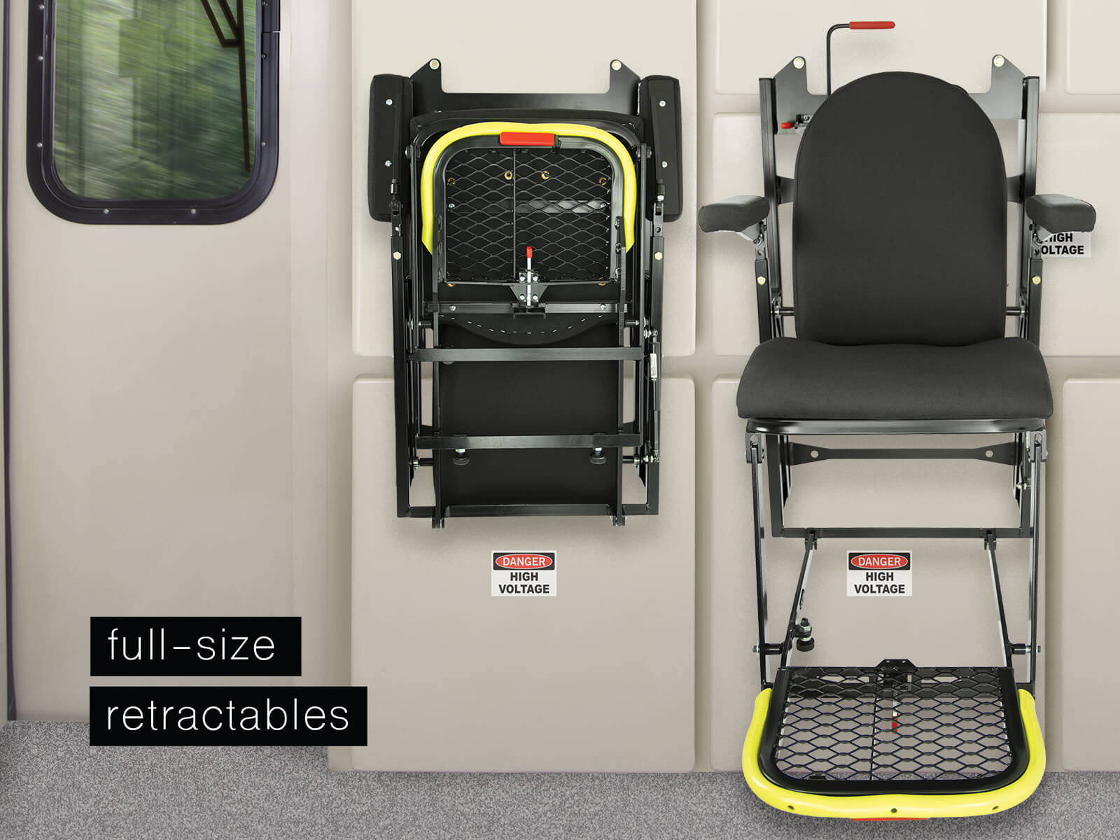 Baultar's Full Size Retractable Seat