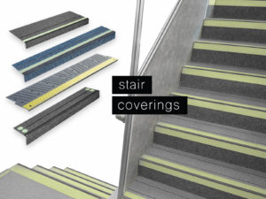 Stair Coverings for Railway Applications