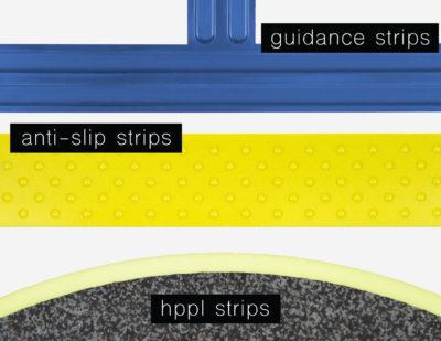 Baultars anti-slip strips