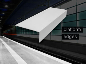 Platform Edges that Attract Attention
