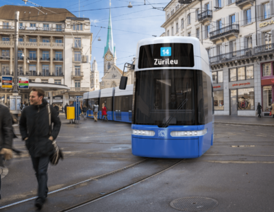 Zurich Orders Bombardier FLEXITY Trams
