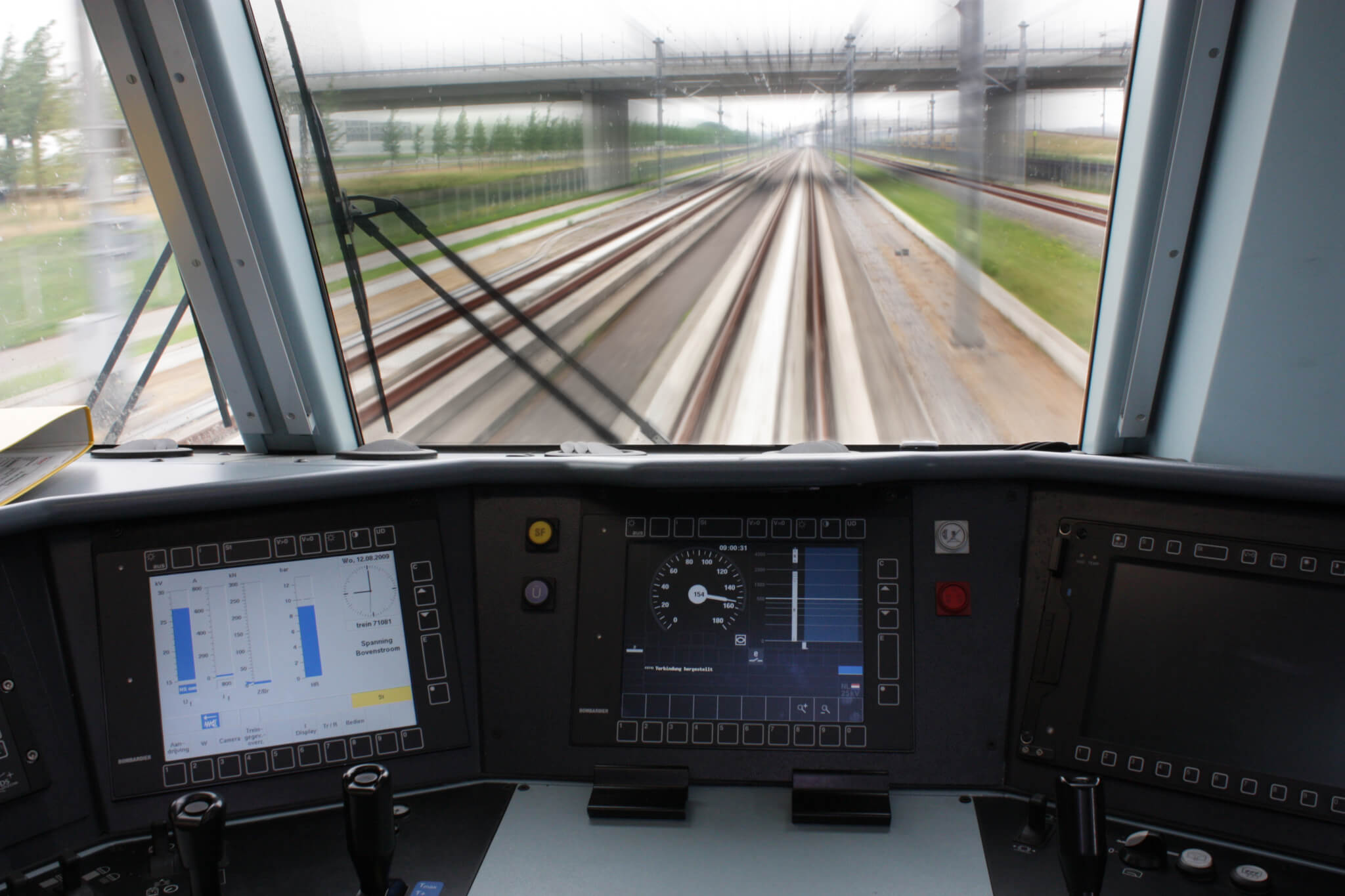 On-board train control technology