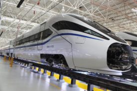 New Generation High Speed Train