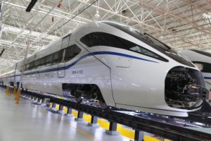 New Generation High-Speed Trains for China