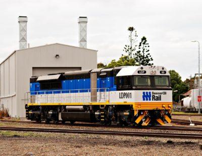Downer Locomotive with NKRV HVAC