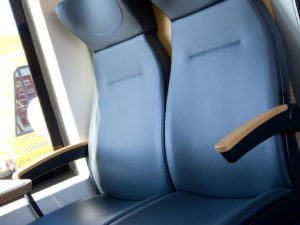 Train Seating E-Leather