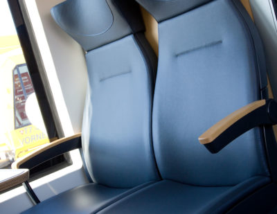 ELeather Train Seating ELeather