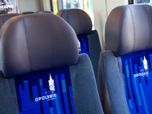 Train Seating and Upholstery
