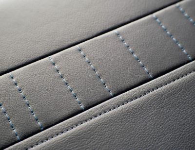 ELeather Train Seating Stitching Design