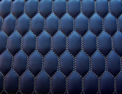 ELeather Quilted Train Seating