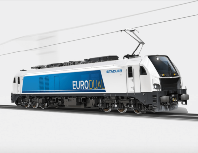 HVLE Orders Electric-Diesel Locomotives from Stadler