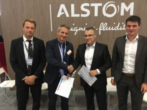 Frauscher Alstom Alliance