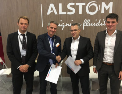 Frauscher becomes a member of Alstom Alliance