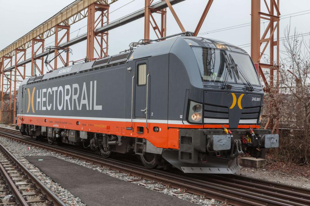 Hector Rail Siemens Locomotive