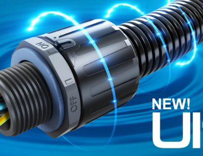 Flexicon Launches Flexible Conduit Fitting for Critical Cable Connections