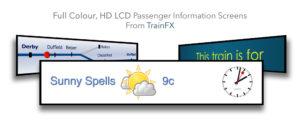 TrainFX Passenger Information Displays