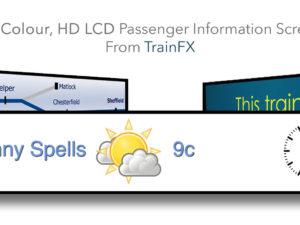 HD Passenger Information Displays
