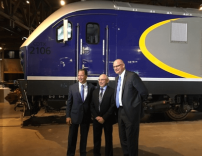 Californian Charger Clean Diesel-Electric Locomotives Set for Operation