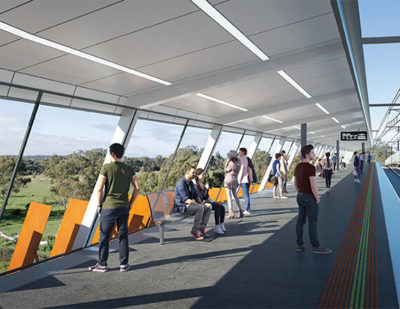 Construction Begins On Melbourne's Newest Rail Line