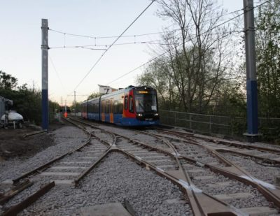 UK's First Tram Train Network Reaches Major Milestone