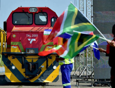 First Trans-Africa Locomotive Unveiled