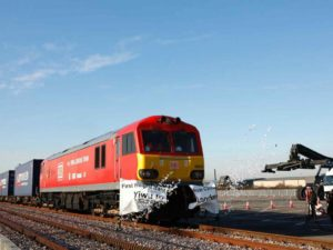 UK to China Rail Freight Service
