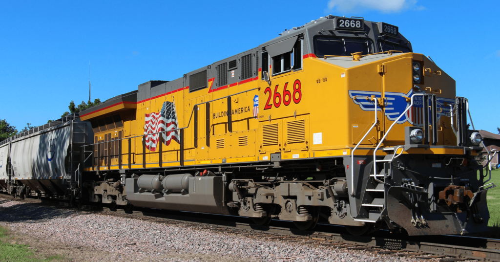 Union Pacific Locomotive