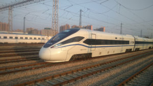eco-friendly high speed train © Bombardier