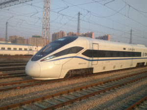eco-friendly high speed train
