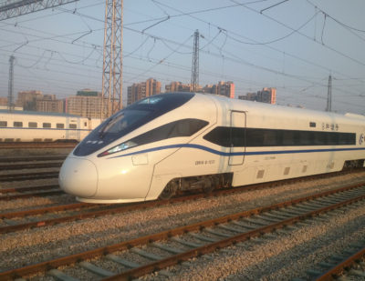 China Railway Corporation Orders Eco-Friendly High Speed Trains
