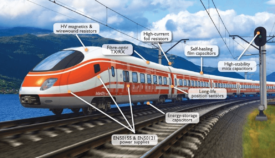 ruggedised electronic components for rail