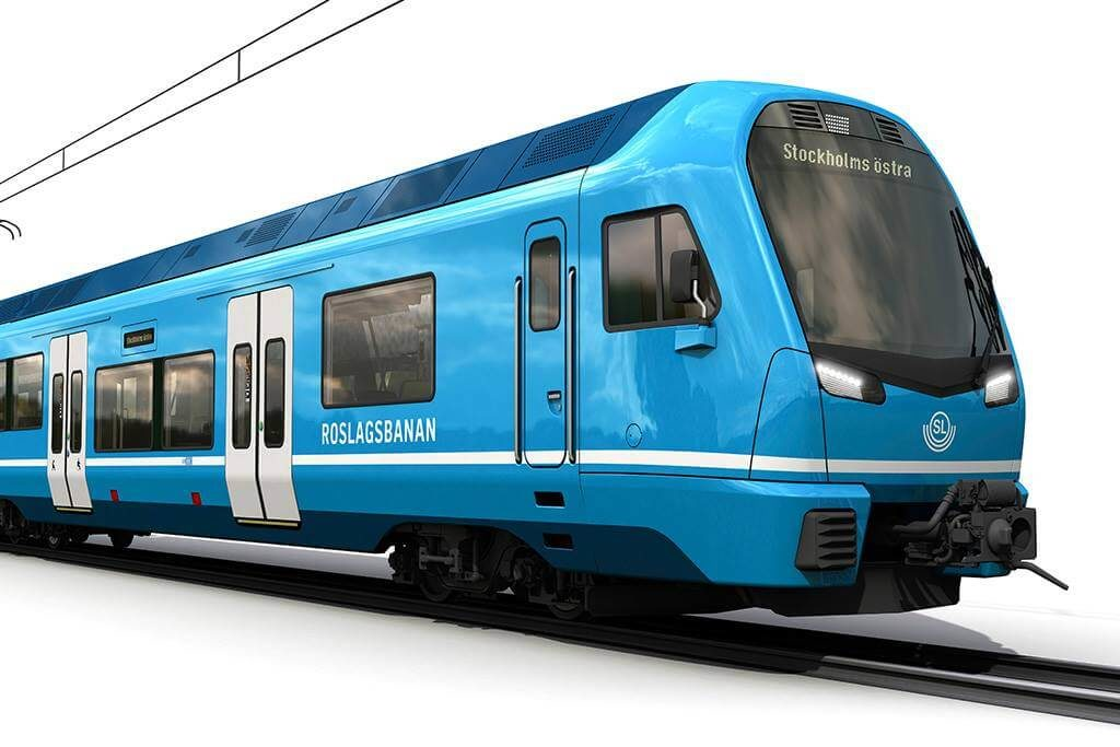 Narrow-Gauge EMUs for Stockholm Transport
