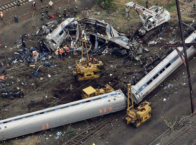 Amtrak Engineer Charged with Involuntary Manslaughter
