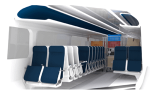 Adaptable Carriage Passenger Freight Rail