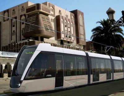 Cital Delivers the First Citadis Tram to Ouargla in Algeria