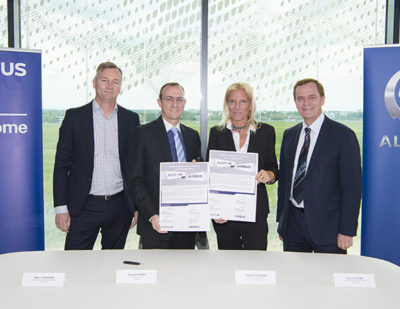 Alstom and Airbus Sign Cybersecurity Cooperation Agreement