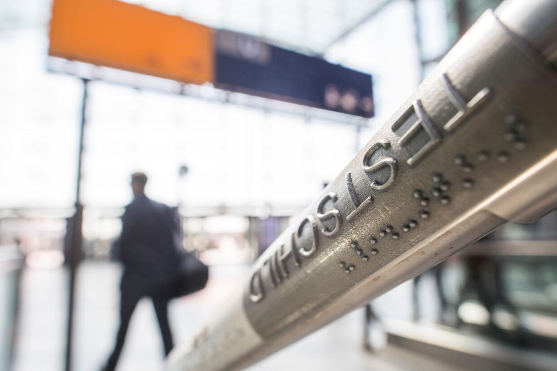 3D printing at Deutsche Bahn: braille hand rails