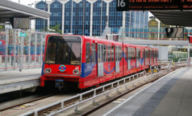 Docklands Light Railway Train