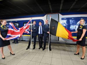Eurostar e320 train london brussels route