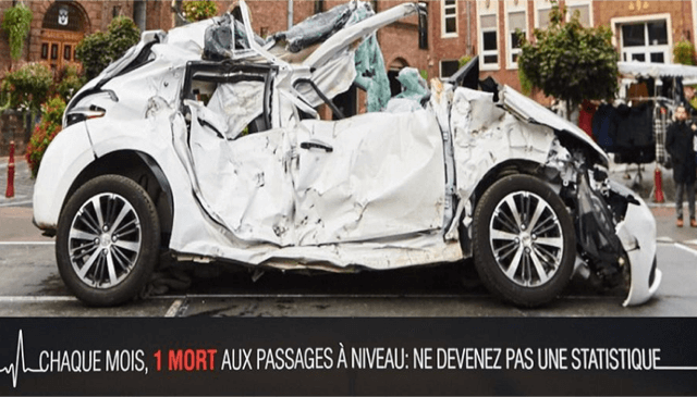 Don't be a statistic: level crossing deaths in France