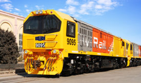 MTU Rail Engines for KiwiRail